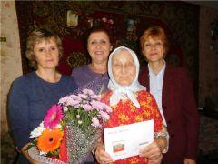 Ветеран войны Анна Никифоровна Антонова отметила 90-летний юбилей