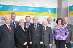 Есть кому передать традиции Химпром День города Новочебоксарск-2011 Встреча ветераны труда