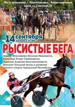 АфишаНовочебоксарск примет соревнования по конному спорту Конный спорт в Новочебоксарске