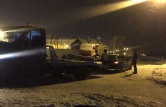 У нетрезвого водителя на Тракторостроителей, 72 эвакуируют автомобиль. Фото из архива ГИБДД МВД по ЧРВстретят Новый год без прав Хватит погибать на дорогах Рейд нетрезвый водитель ДТП