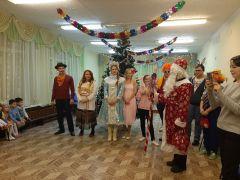 Союз молодежи «Химпрома» подарил праздник воспитанникам реабилитационного центра Химпром