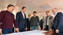 Михаил Игнатьев ознакомился с ходом строительства тепличного комплекса «Новочебоксарский»
