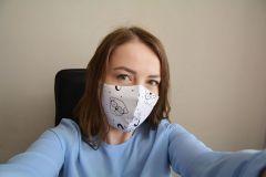 Журналист Ольга Панова рассказывает, как за считанные минуты сшить маску себе и всем членам семьи.Маски шьем сами! коронавирус