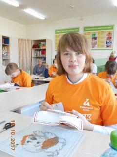 Дания Магжанова—  лучшая вышивальщица чемпионата.Все начинается с олимпиады Доступная среда «Абилимпикс»