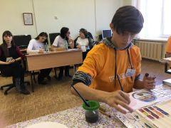 """Павел Илугин участвует в компетенции """"Художественный дизайн"""".Все начинается с олимпиады Доступная среда «Абилимпикс»"""