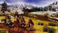 Ученые: неандертальцы были первыми художникамиScience: корни изобразительного искусства восходят к неандертальцам наука Исследования искусство