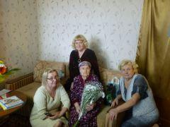 Поздравления принимает жительница Новочебоксарска, ветеран Великой Отечественной войны ветеран  Великой Отечественной войны Юбилей