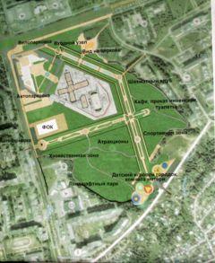 Власти Чебоксар приняли решение территорию за ДК Тракторостроителей превратить в парк