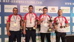 Атлеты из Чувашии привезли семь медалей на чемпионате мира по армрестлингу