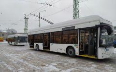 Стало известно, почему не все троллейбусы из Уфы доехали до Чувашии