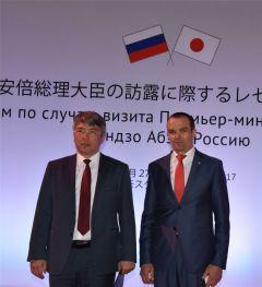 Михаил Игнатьев принял участие в официальном приёме по случаю визита Премьер-министра Японии Синдзо Абэ в Россию Глава Чувашии Михаил Игнатьев