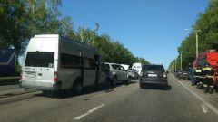 Фото zarulem.wsУ Пихтулино в ДТП попала маршрутка №331 Новочебоксарск-Чебоксары ДТП