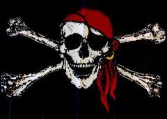 "piratskii_flagh.jpgНа ""Аврору"" вандалы водрузили пиратский флаг пиратский флаг крейсер"