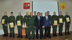 polk.jpg10 парней из Чувашии будут служить  в Президентском  полку призыв