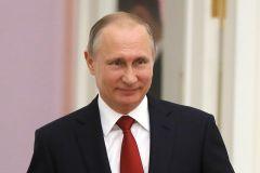 Владимир Путин вновь избран Президентом РоссииЗа Владимира Путина в Чувашии отдали голоса 77,29% избирателей Выборы-2018