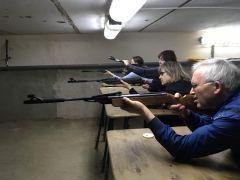 Оружие в крепких руках. Фото автораМеткие учителя Спорт — норма жизни