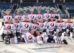 Команда Чебоксарской ГЭС - призёр Объединенной корпоративной хоккейной лиги «Трудовые резервы» хоккей