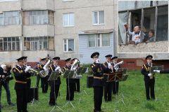 Торжественный концерт для ветерана труда Пелагеи Солдаткиной.Поклонимся великим тем годам День Победы 75 лет Победе