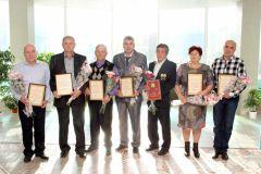 Работников «Химпрома» наградили за успехи в трудеРаботников «Химпрома» наградили за успехи в труде Химпром