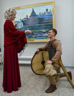 radugha_vystavka_8.jpgВ чебоксарском КВЦ «Радуга» открылась выставка новочебоксарской художницы Марии Любимовой Радуга Выставка