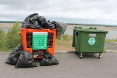 В Чебоксарах установили контейнеры для раздельного сбора мусора