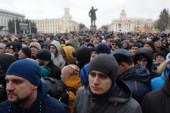 Фото РИА Новости, ТАССУчастники митинга в Кемерове рассказали о требованиях собравшихся Кемерово пожар трагедия траур