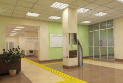 Но уже 27 августа этот холл будет выглядеть так.  Макет предоставлен Новочебоксарским медицинским центромС заботой о женщинах ремонт женская консультация