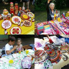 В Ельниковской роще проходят мастер-классы народных умельцев