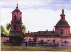 Трехпрестольная церковь в Яндашеве. Фото из архива землячестваРодом из Шордан Шордан память