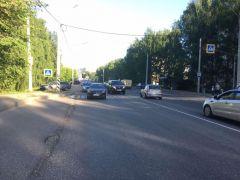 Место ДТПВ Новочебоксарске в ДТП пострадал ребенок ДТП с несовершеннолетним