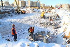 В Чебоксарах началось строительство школы в микрорайоне «Волжский-3»