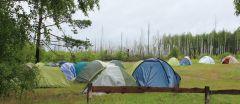 Если есть палатка у тебя, то ты уже турист!В лес за наукой Школа дикой природы