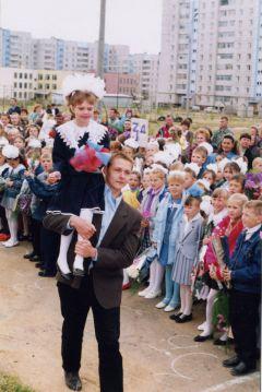 В середине 90-х. Фото из архива школыК здоровому  образу жизни —  через диалог культур День учителя