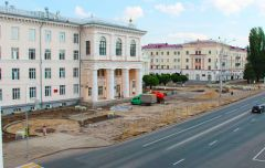 К середине лета в Чебоксарах будет сдан новый сквер