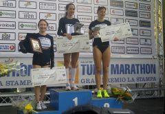 Сильвия Скворцова – бронзовый призер марафона в Турине  марафон