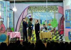 В ИК-5 осужденные подготовили концерт по мотивам фильма «Служебный роман» УФСИН