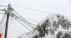 Непогода обесточила 88 населенных пунктов Чувашии Погода снегопад метель