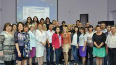 Журналисты Чуваши на семинаре Владимира КосютинаСоюзу журналистов Чувашской Республики – 95 лет