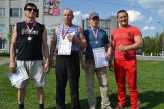 Сотрудник «Химпрома» занял II место в турнире по гиревому спорту Химпром