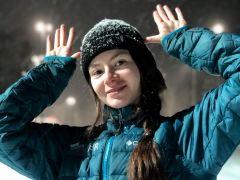 Фото из личного альбома Л.ПрусаковойВ четвертый раз  чемпионка Лана Прусакова