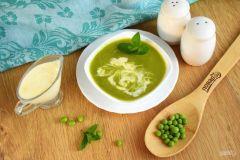 Суп из зеленого гороха Летние рецепты Семейный стол