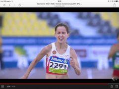 Елена Свиридова - еще раз чемпионка мира  Спорт паралимпиада Елена Свиридова-Иванова