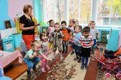А у нас в садике тепло, а у вас? Фото Александра СидороваСложились, починили —  живем в удовольствие Тепло в доме