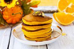 Тыквенно- апельсиновые оладьиВставай с постели —  блины поспели! Семейный стол
