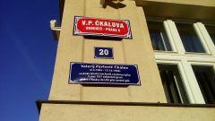 Чехи увековечили память нашего прославленного летчика Чкалова, назвав одну из улиц его именем. Фото автораНа родине бравого солдата Швейка. Продолжение Чехия Тропой туриста Прага