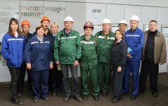 """команда цеха по производству уникального """"Мягчителя-2""""Уникальному продукту ПАО «Химпром» исполнилось 40 лет Химпром"""