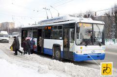 Новый троллейбус на маршруте. Фото Александра СидороваПриобретение года События 2014 года
