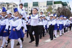 Фото Марины ВасильевойДошколята вышли на парад Парад дошколят День Победы