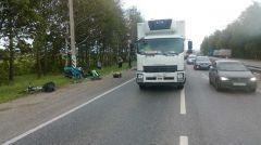 Трех путешественников-велосипедистов из Москвы сбила фура на трассе Новочебоксарск — Чебоксары.ДТП на ровном месте Фотофакт