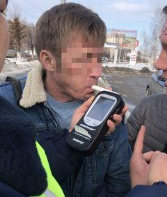 Нетрезвый водительНетрезвый водитель гонял по Новочебоксарску, его остановили в столице Чувашии нетрезвый водитель